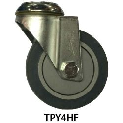 4 Inches Hole Fitting TPY Castor Wheel TPY4HF_resize