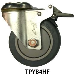 4 Inches Hole Fitting TPY Castor Wheel TPYB4HF_resize