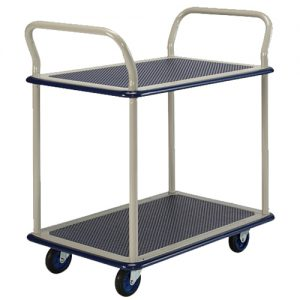 Double Handle 2 Shelf Trolley NB104_resize