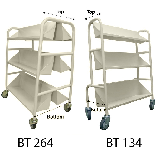 Steel Library Book Trolley_resize