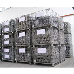 Warehouse Metal Pallet Mesh Container 01_resize