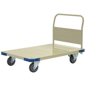 Metal 1 Fixed Handle Platform Trolley KMT116_resize